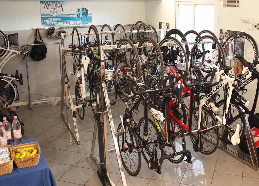 34eb066b3e4 In The Hotel You also have a bike workshop with all of the tools necessary  for small repairs.